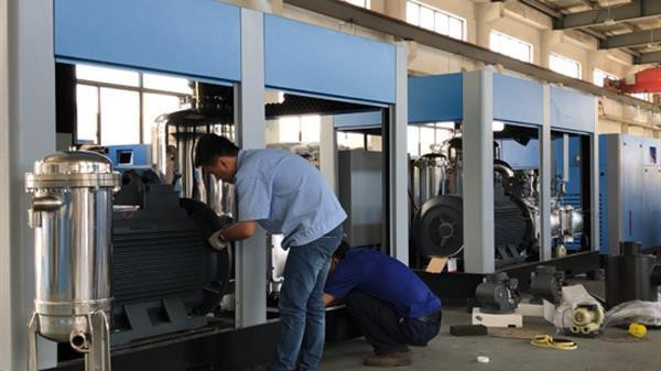 空气压缩机产量持续增长,上海普度以高质量受欢迎