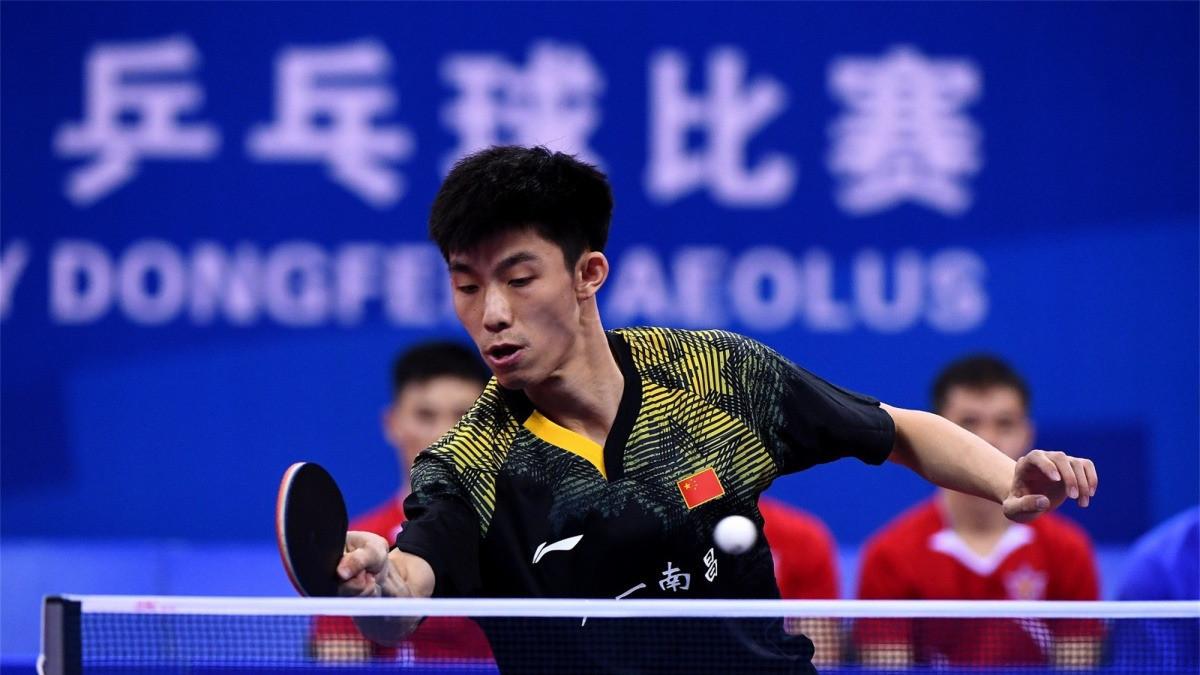 乒乓球男子团体决赛:中国队3比1胜朝鲜队