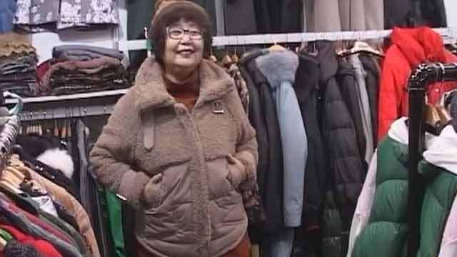 暖和舒适不掉毛 这种面料的衣服很受欢迎