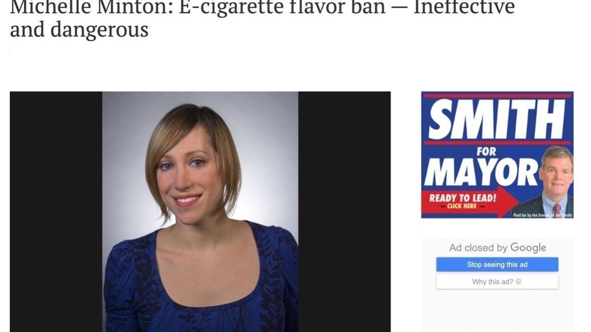 """美专家批评电子烟""""新政"""":仓促制定新法规,难以消除电子烟""""危机"""""""
