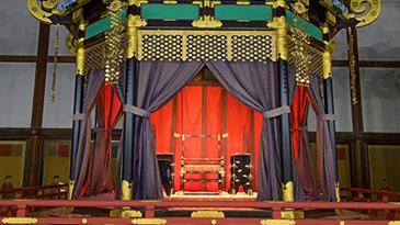 """日本新天皇即位仪式""""高御座""""曝光:重达8吨"""