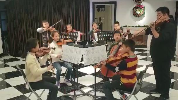 提琴演奏《七子之歌》