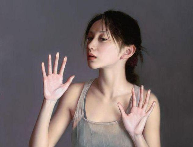 当代画家李壮平,为了找寻适合作品的模特,不惜背负无数的谴责和骂名.图片