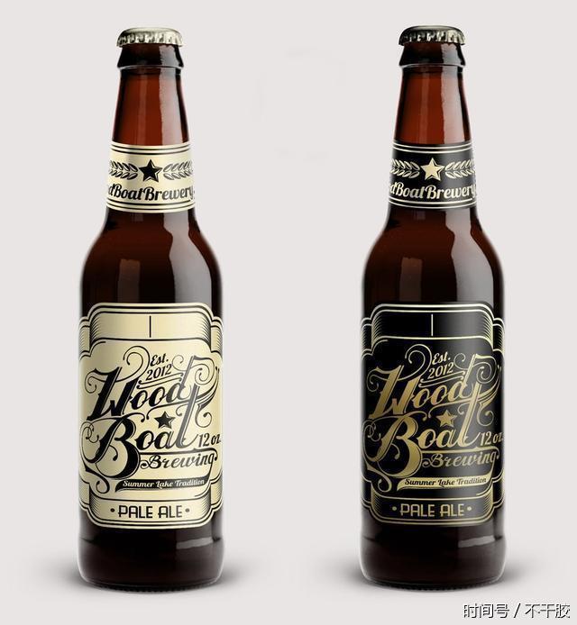 瓶子的标签设计同样适用于罐子1