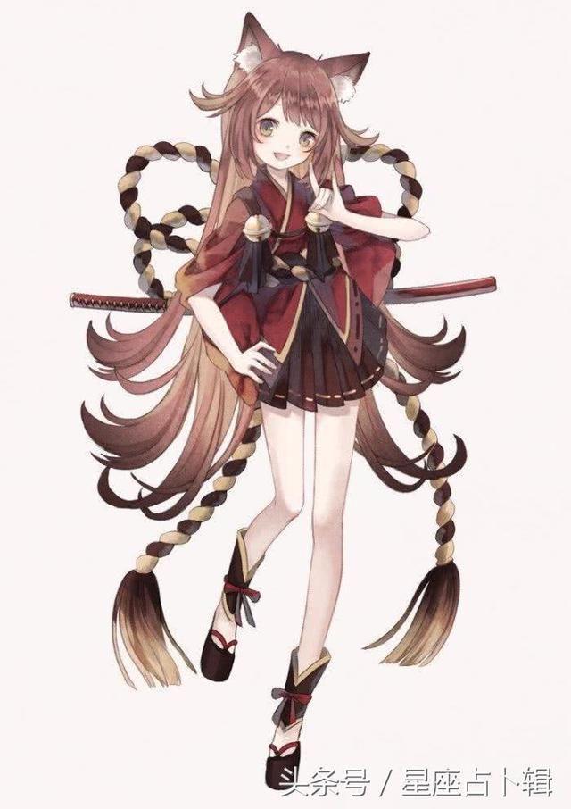 这就是双子座专属狐妖小公主