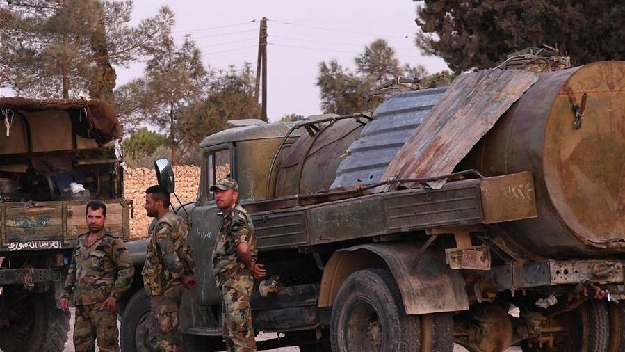 曼比季的叙利亚政府军