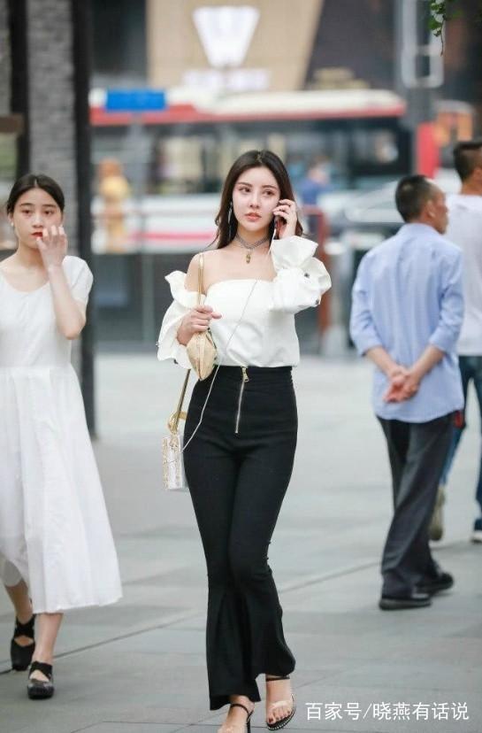 色中色制服丝袜_街拍:图4丝袜跟制服搭配起来真是极品,图5出门又不穿安全裤