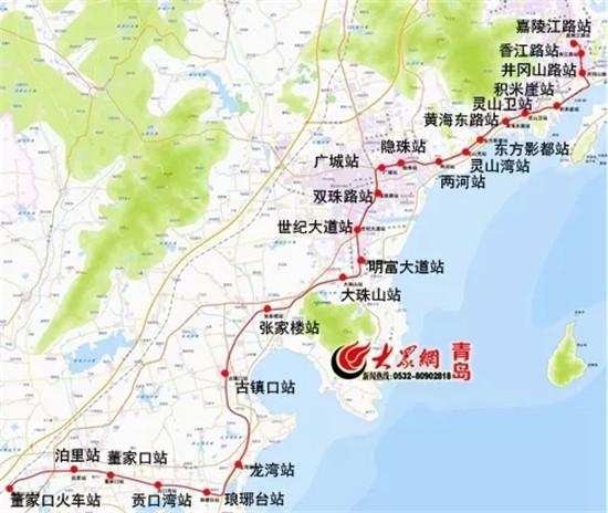 地铁线路有3条覆盖该片区,除此之外,建设当中的青岛西站也位于该区域.
