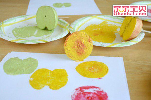 简单幼儿苹果贺卡手工制作
