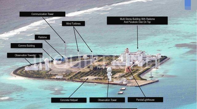 菲律宾用高清图片告诉你,我国南海各岛现在建设的多美丽!