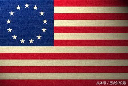 历史上的巧合?细思极恐,从国旗设计看美国的野心!