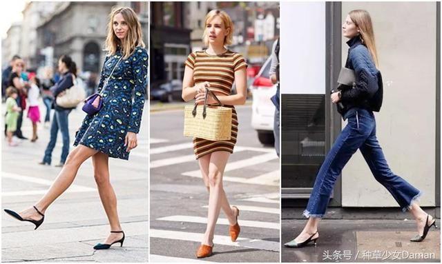 适合小个子女生夏天穿的3双鞋,显瘦显高胖女生v女生图片