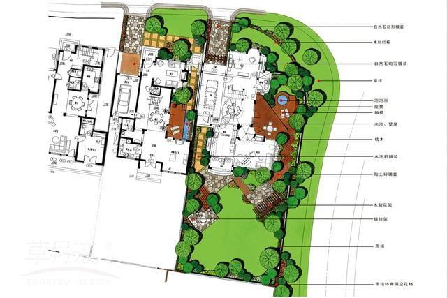"""欧式风格""""庭院景观""""设计,水池,喷泉,雕塑处处都是亮点"""