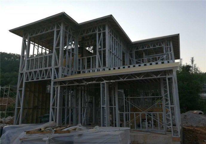 实拍20轻钢,a一道打造一道多天房产,绝对是别墅农村东关寿光别墅二层图片