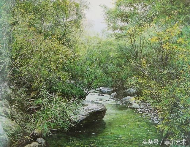 中国油画家张仲达油画作品欣赏
