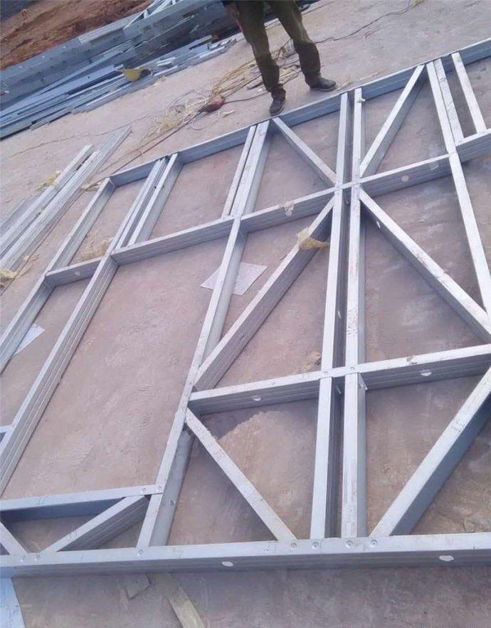 轻钢结构房屋组装轻钢龙骨组装