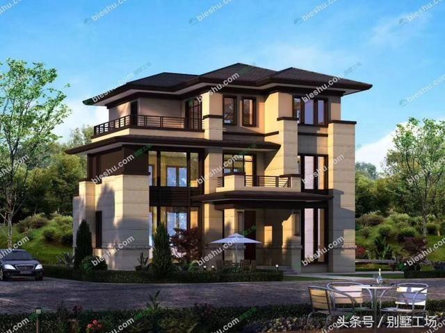 新中式别墅的设计精髓与配色-北京时间
