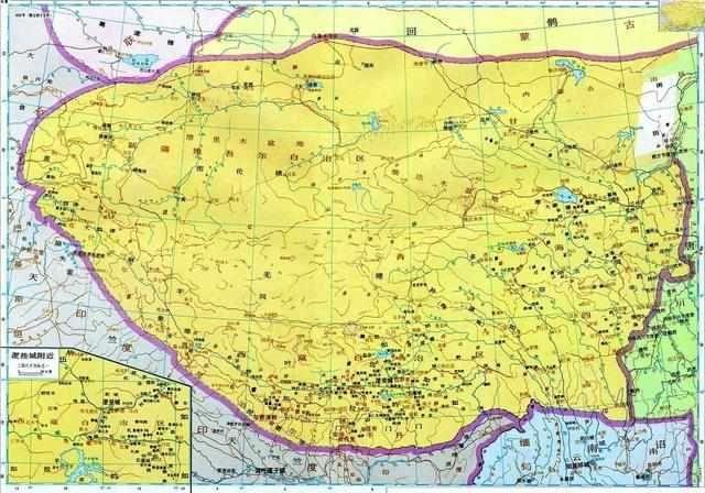 鼎盛时的吐蕃疆域 宋朝开国之初,河西陇右之地仍然为回鹘,吐蕃等少数