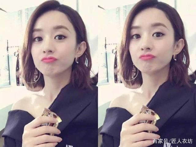 31岁的杨幂和30岁的赵丽颖同网友短发,造型:没2018减龄短发50岁图片