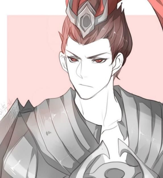 动漫头像丨王者荣耀人物手绘,吕布和貂蝉!