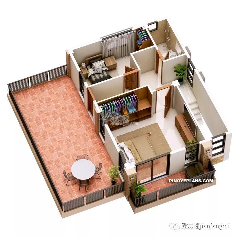 输送滚筒-新图纸自建房小图纸9米X10米两层度农村户型建房图片
