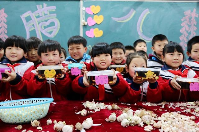 河北广平小学做腊八蒜过腊八蒲鞋市校区湖龟小学图片