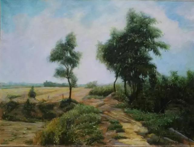 1977年师从著名油画家靳之林先生和父亲李泽旅先生.1979年入伍.