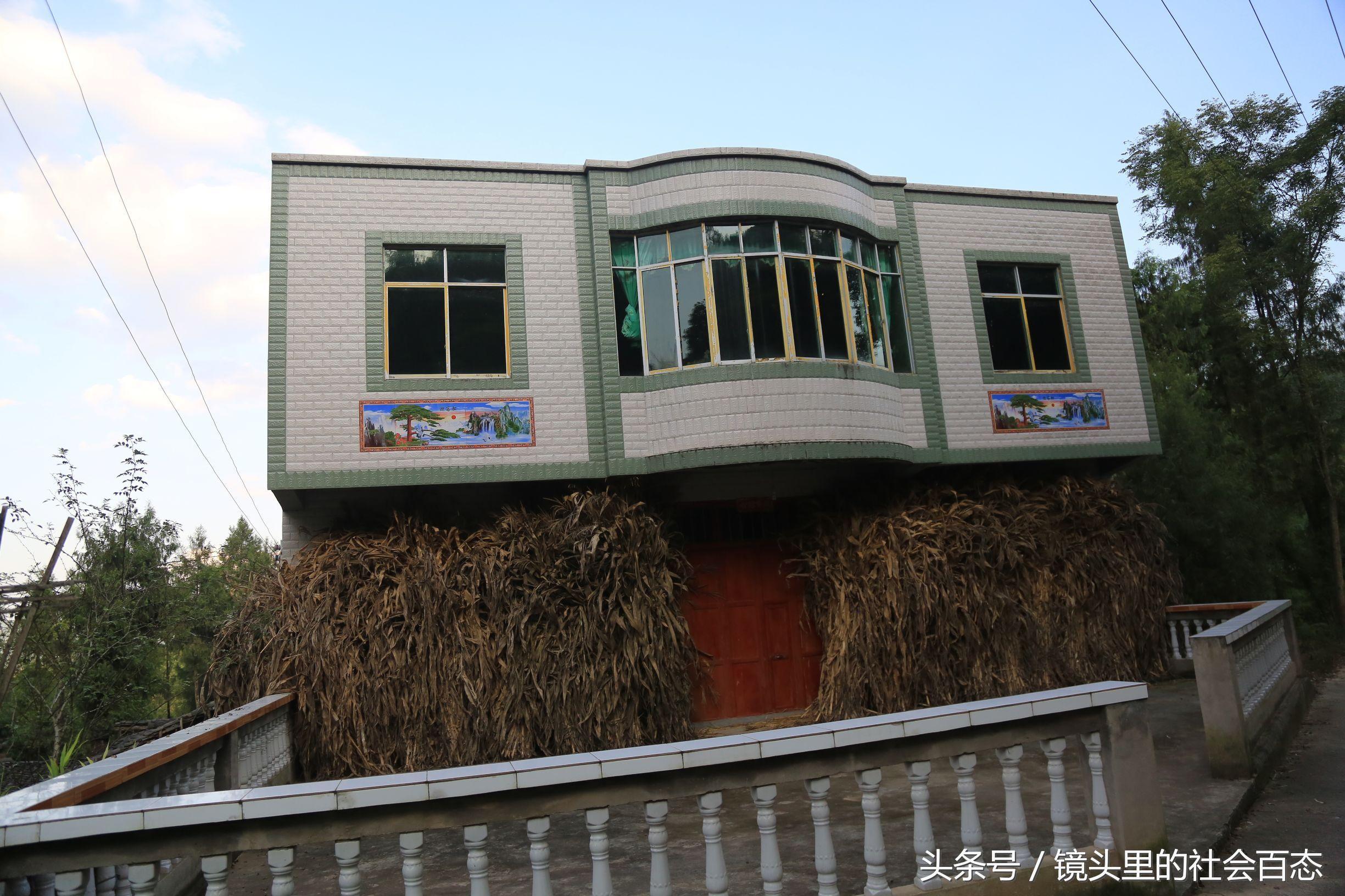 农村贫富差距有多大?有人住土墙房子,有人住别墅-北京图片