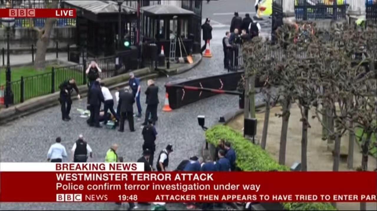 英国议会大厦发生恐怖袭击 1名中国游客受伤