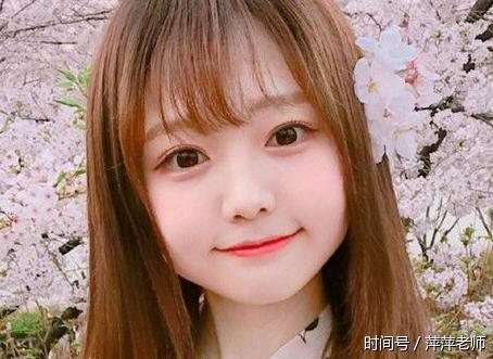 短发 半透明空气刘海 圆脸,可爱十分又特别萌呆,很招人爱!