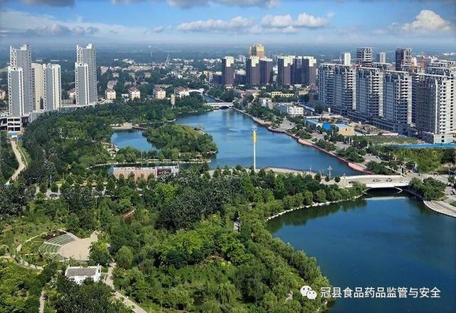 (文 任金光) 李艳霞为清泉河风景区赋诗 后 记 《冠县新八景》的编辑