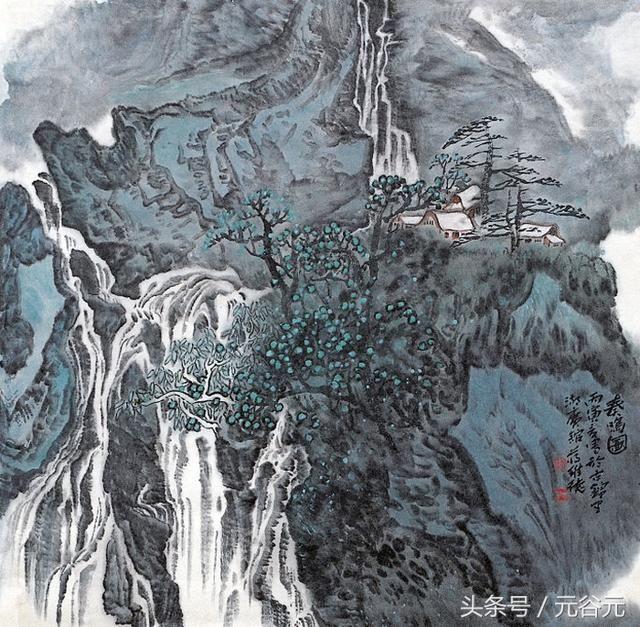 甘于寒窗寂寞苦度,不以攀桂折枝为荣速写画家蒋维德图片