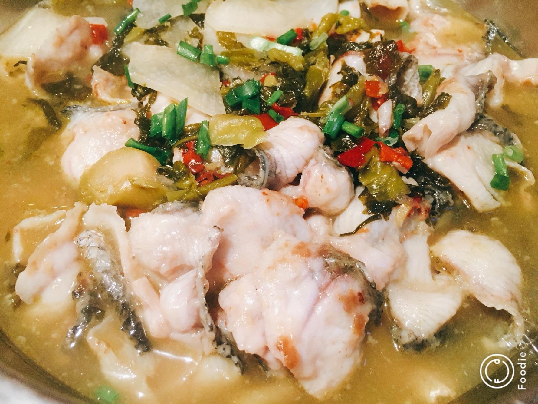 家常酸菜鱼的做法步骤