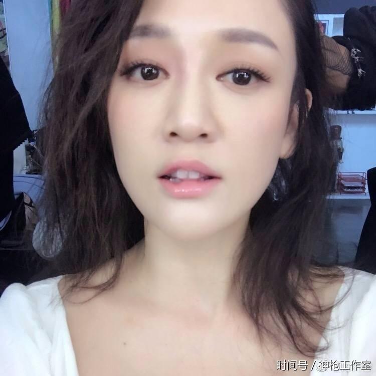 陈乔恩新自发素颜照对比照