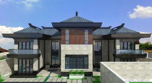 欧式别墅房顶造型图片