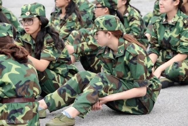 南宁某初中军训太恐怖,你们军训经历了初中入学昭平分数线图片