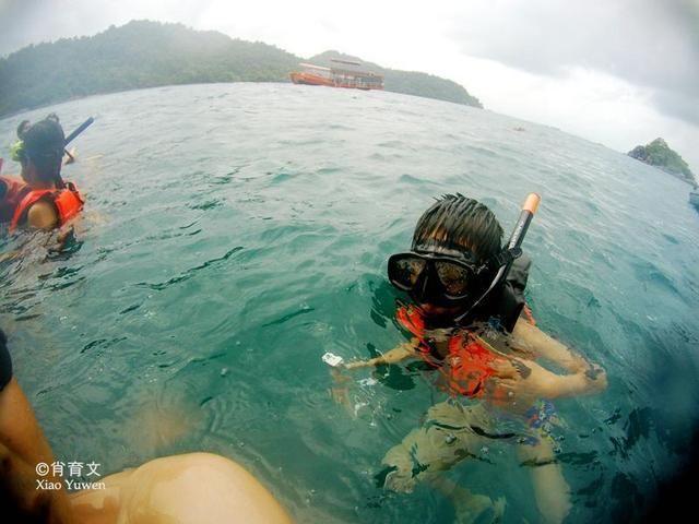 泰国普吉岛的沉船事故后,让我想起了去年在象岛的相同