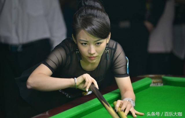 她被誉为体育界女神的九球天后潘晓婷,奥沙利文也要故意输给她!
