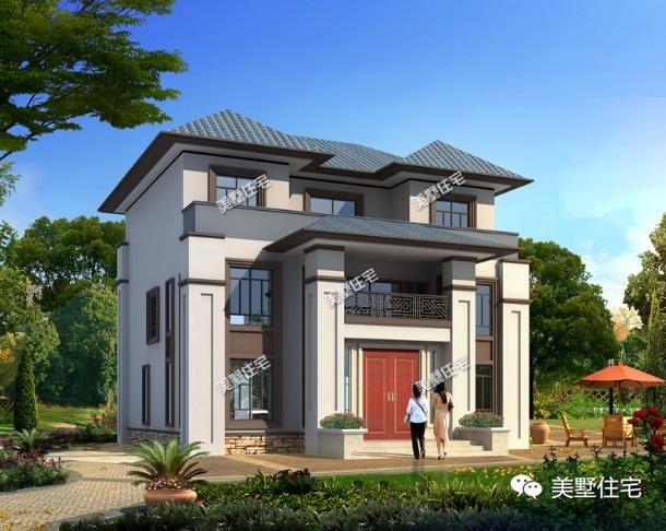 中国风真美,2018最a别墅5栋新中式别墅,别墅真正的高这是新坡岛海口图片