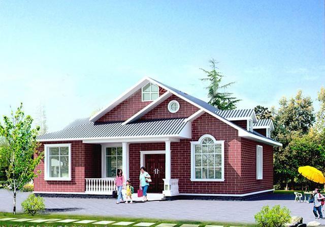 单层农村自建房设计图分享,拿回家盖房吧