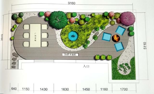 光与影的浪漫30平屋顶庭院花园