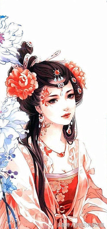 十二星座的绝美古装造型,天蝎座的绝代妖姬
