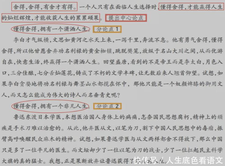 高中高中,学议论文录取本论语文的写作关系2015并列层次名单级华侨图片