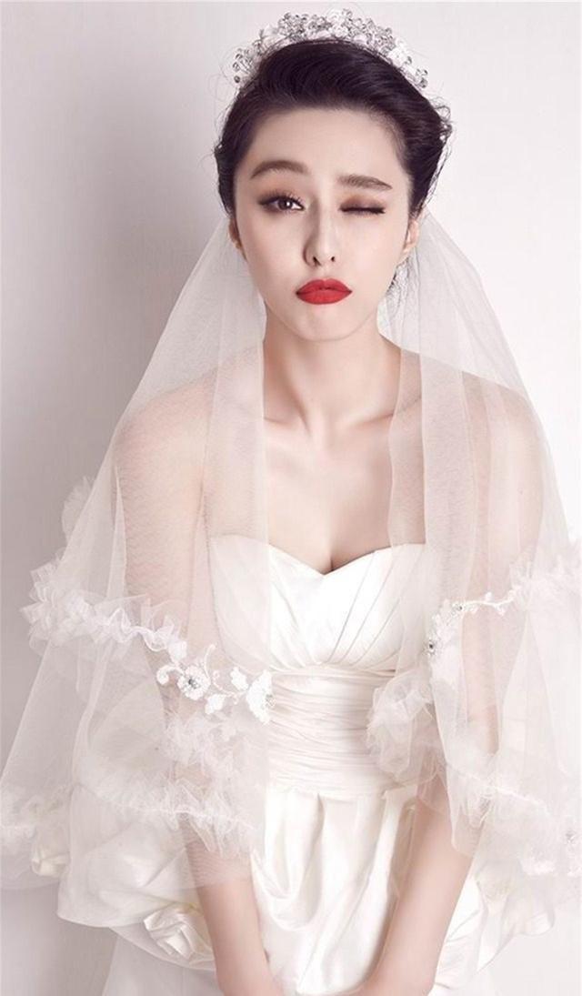 明星婚纱照:杨幂范冰冰美艳,迪丽热巴甜美可爱