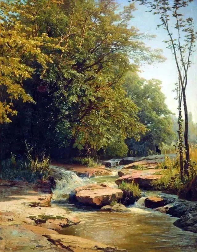 108幅经典风景油画作品欣赏