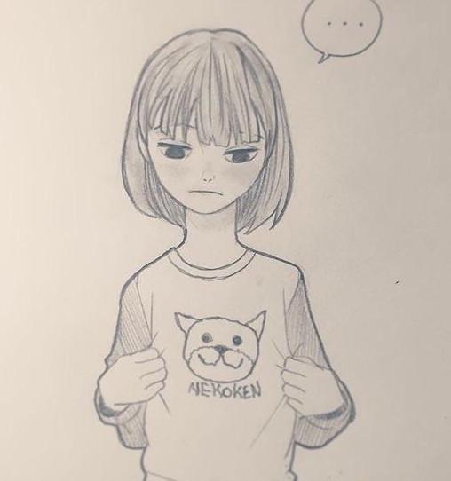动漫 简笔画 卡通 漫画 手绘 素描 头像 线稿 508_542