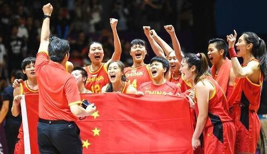 亚运中国女篮夺冠!姑娘里有咱库尔勒女生!她臭队伍小说足图片