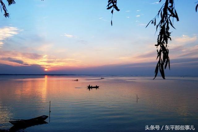 东平那些事儿之东平湖风景区