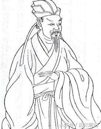 古代诗人衣服简笔画