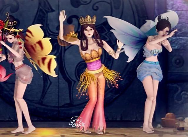 叶罗丽仙境中的四大公主,冰公主和灵公主即将在第六季图片